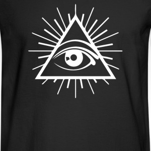 All Seeing Eye - Men's Long Sleeve T-Shirt