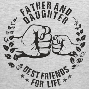 Father and Daughter best friends for life Sportswear - Men's Premium Tank