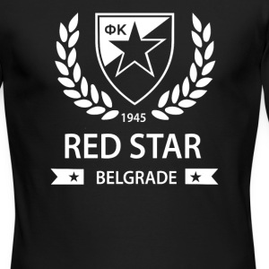 Red Star Belgrade Serbia Socer - Men's Long Sleeve T-Shirt by Next Level