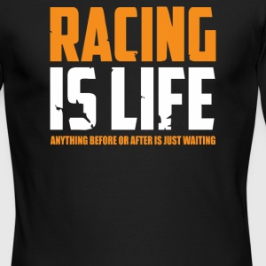 Racing Is Life Steve Mcqueen - Men's Long Sleeve T-Shirt by Next Level
