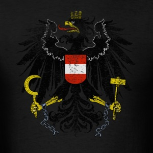 Austrian Coat of Arms Austria Symbol - Men's T-Shirt