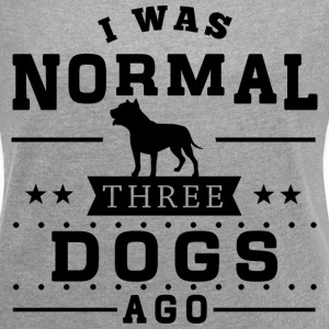 Three Dogs Ago T-Shirts - Women´s Rolled Sleeve Boxy T-Shirt