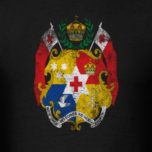 Tongan Coat of Arms Tonga Symbol - Men's T-Shirt