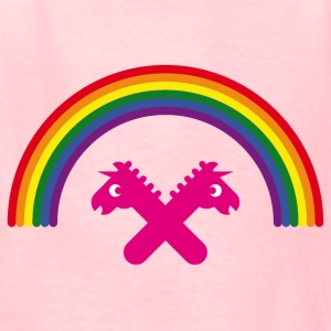 Unicorns Under The Rainbow Kids' Shirts - Kids' T-Shirt