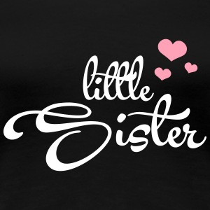 Little Sister with Hearts T-shirts - T-shirt premium pour femmes