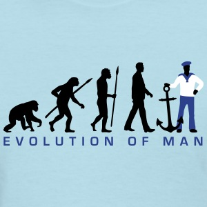 evolution_of_man_seaman_b3c T-Shirts - Women's T-Shirt