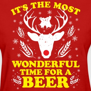 Wonderful time for a beer - Women's T-Shirt