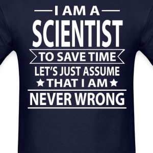 Scientist - Men's T-Shirt