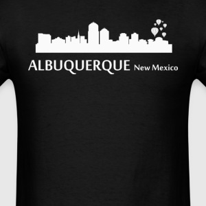 Albuquerque New Mexico Downtown Skyline - Men's T-Shirt