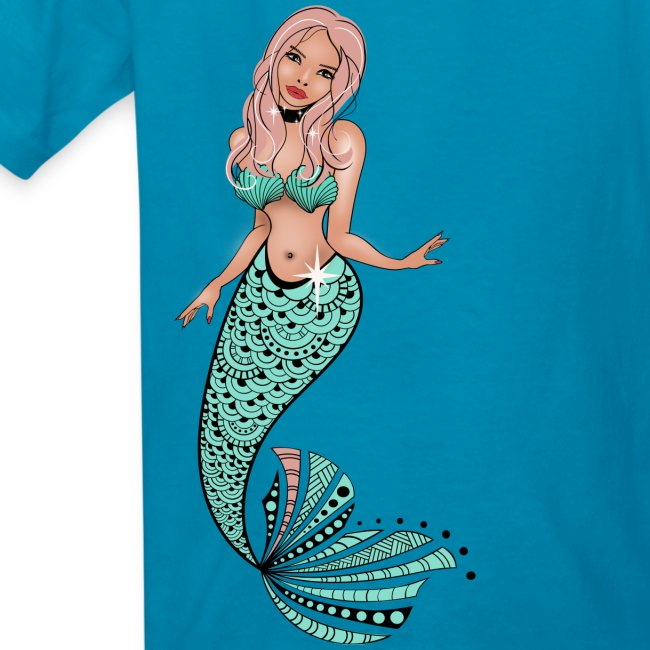 Mermaid Kids T-Shirt from South Seas Tees