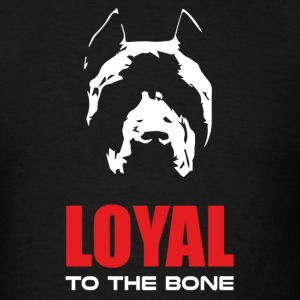 Pit Bull - Loyal To the Bone Red T-Shirts - Men's T-Shirt
