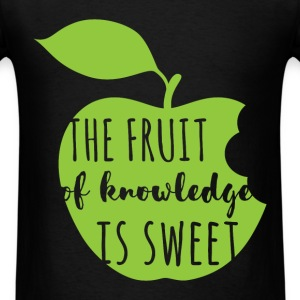 The fruit of knowledge is sweet - Men's T-Shirt