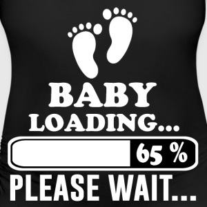 baby loading 1.png T-Shirts - Women's Maternity T-Shirt