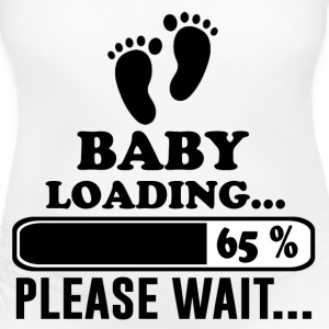 baby loading 2.png T-Shirts - Women's Maternity T-Shirt