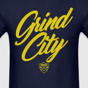 Grind City Script T-Shirts - Men's T-Shirt