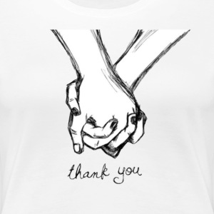 I am Holding You hand  - Women's Premium T-Shirt