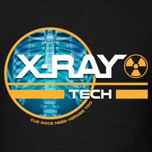 X-Ray Tech - Cuz Docs Need Heroes Too T-Shirts - Men's T-Shirt