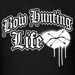 Bowhunting Life White T-Shirts - Men's T-Shirt