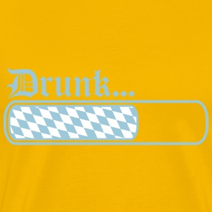 Teamcrew loading bar bavarian drunk drunk drunk dr T-Shirts - Men's Premium T-Shirt