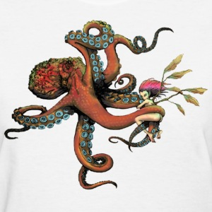 octopus  - Women's T-Shirt