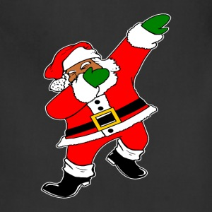 Dab Black Santa Claus Aprons - Adjustable Apron