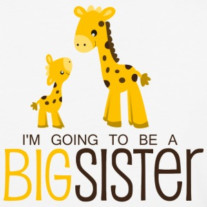 I am going to be a Big Sister - Baseball T-Shirt