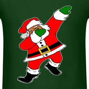 Dab Black Santa Claus T-Shirts - Men's T-Shirt