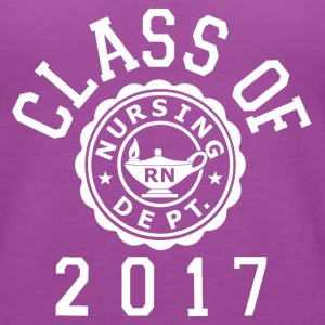 Class Of 2017 RN (Nursing) Tanks - Women's Premium Tank Top