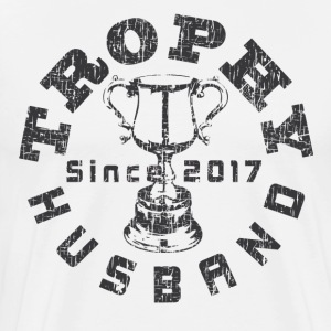 Trophy Husband Since 2017  T-Shirts - Men's Premium T-Shirt