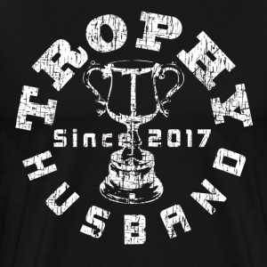 Trophy Husband Since 2017 White - Men's Premium T-Shirt