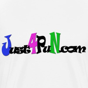 Just4Pun.com Logo - Men's Premium T-Shirt