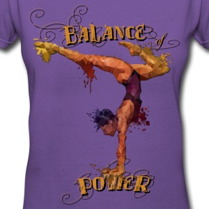 Balance of Power T-Shirts - Women's V-Neck T-Shirt