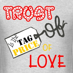 trust price tag T-Shirts - Men's T-Shirt