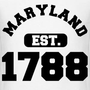 MARYLAND PRIDE 1.png T-Shirts - Men's T-Shirt