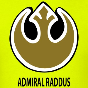 Raddus Rebellion Badge T-Shirts - Men's T-Shirt
