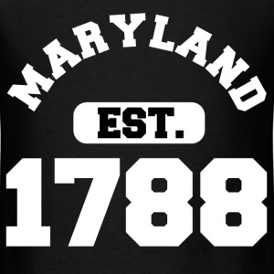 MARYLAND PRIDE 2.png T-Shirts - Men's T-Shirt