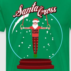 Santa Cross T-Shirts - Men's Premium T-Shirt