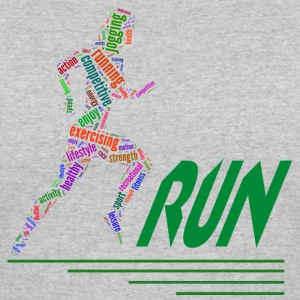 Running girl T-Shirts - Women's 50/50 T-Shirt
