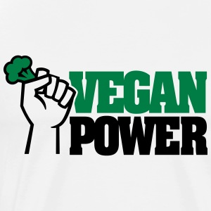 Vegan Power T-Shirts - Men's Premium T-Shirt