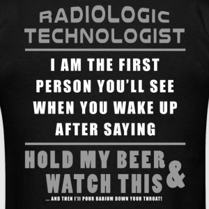 Rad Tech - Hold My Beer And Watch This T-Shirts - Men's T-Shirt