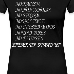 Stand up Speak up T-Shirts - Women's Premium T-Shirt