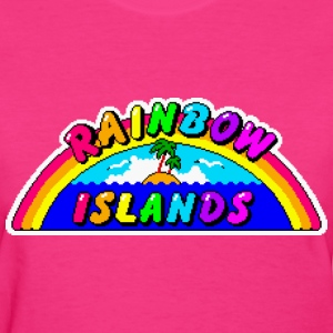 Rainbow Islands - Women's T-Shirt