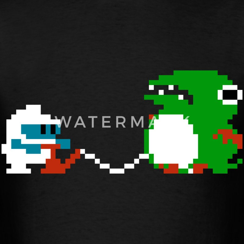 Dig Dug - Men's T-Shirt
