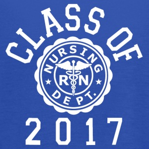 Class Of 2017 Nursing Tanks - Women's Flowy Tank Top by Bella