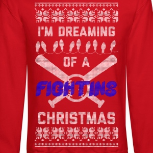 I'm Dreaming of A Fightins Christmas Long Sleeve Shirts - Crewneck Sweatshirt