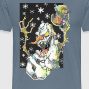 Iceplug Yellowsnow Creepmas T - Men's Premium T-Shirt
