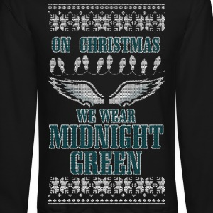 Midnight Green Long Sleeve Shirts - Crewneck Sweatshirt