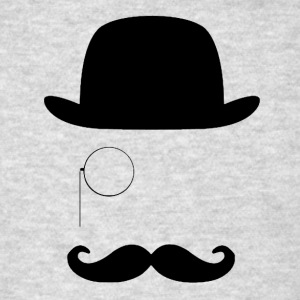 Gentleman with moustache - Men's T-Shirt