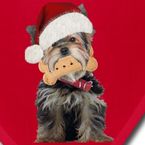 Yorkie Christmas Treats - Bandana