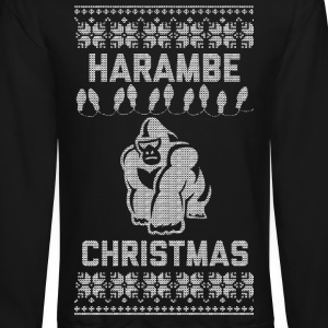 Harambe Christmas Long Sleeve Shirts - Crewneck Sweatshirt